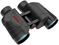 Focus free means no need to worry about missing the action by buying out of focus Fully-coated optics provide bright clear images Black rubber armor protects your binoculars Fold-down eyecups for added comfort Carry case and neck strap included depar...