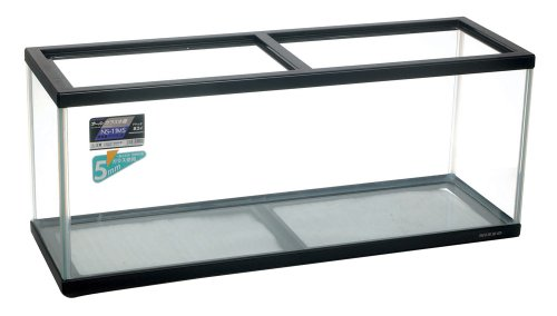 ニッソー 水槽 NS-11MS 黒 (ガラスフタ付) 黒