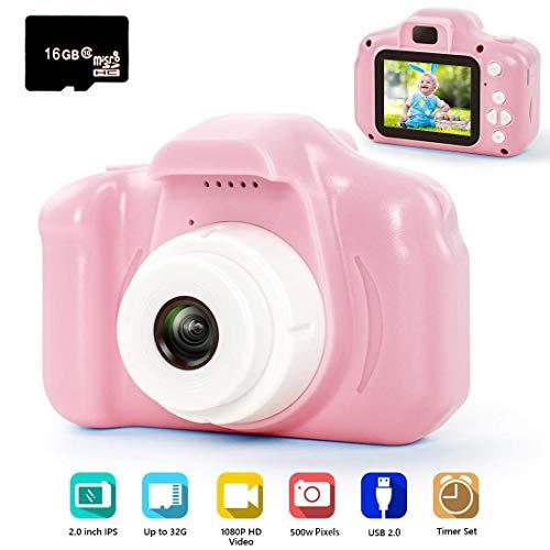 hyleton Digital Camera for Kids, 1080P FHD Kids Digital...