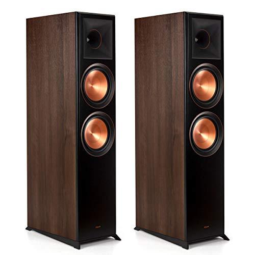 Discover Bargain Klipsch RP-8000F Floorstanding Speaker (Walnut (Pair))