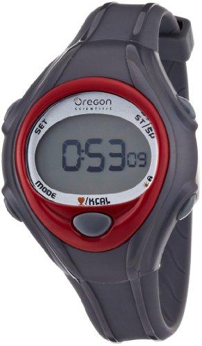 Oregon Scientific Herzfrequenzmesser mit Kalorienanzeige SE 128, rot/shwarz