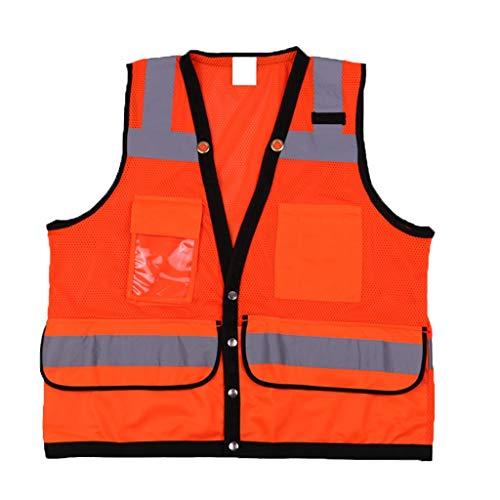 Veiligheidsvest, reflecterend veiligheidsvest, werkkleding, nachtkleding, lostgaming