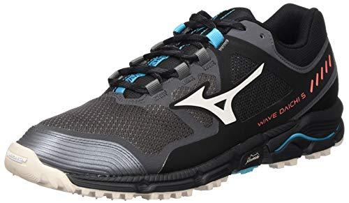 Mizuno Wave Daichi 5, Zapatillas para Carreras de montaña Mujer, Imán/Cgray/Azul Scuba, 35 EU
