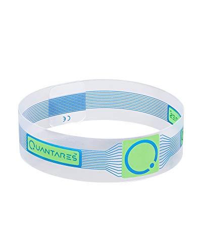 Braccialetto Quantares Life - Dispositivo per il riequilibrio posturale - (Argento, Blu, Magenta) (Blu)