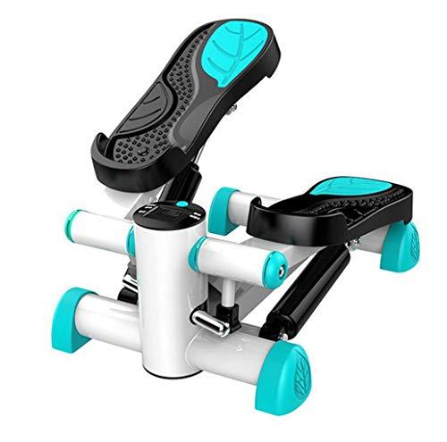 FGSJEJ Laufband Gewichtsverlust Maschine Treppe Stepper Stand Up Heimtrainer Mini Ellipsentrainer Stepper Pedal w/Einstellbarer Widerstand und LCD-Display Fitness-Heimtrainer