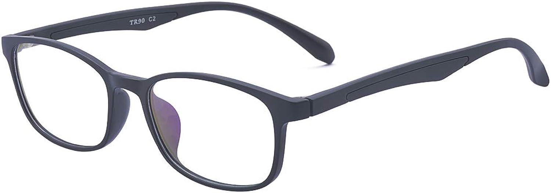 ALWAYSUV Classic Unisex TR90 Frame Nonprescription Clear Lens Glasses Optical Eyeglasses Frame
