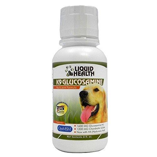 Liquid Health K9 Glucosamine Hip & Joint Formula 8 oz.