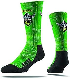 Burley Sekem Unisex Canberra Raiders Large Camo Sock, Multicoloured, Large 8-13