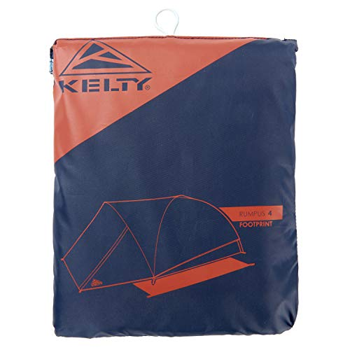 Kelty 4 Person Freestanding Rumpus Tent Footprint for Camping, Car Camping, Festivals and Family