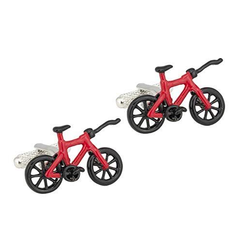 De Cufflink Store Racing Bike Manchetknopen