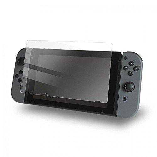 exinoz Nintendo Schalter Displayschutzfolie i Schutz mit 1Jahr Ersatz Garantie I Get der Beste Schutz für Ihr Nintendo Schalter Konsole, 2 Pack