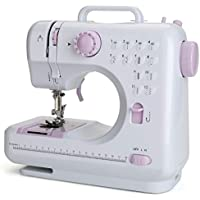 Aonesy Portable Mini Sewing Machine with Foot Pedal (Purple)
