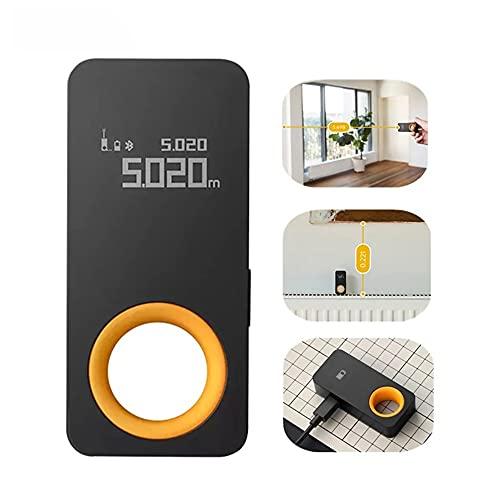 Telémetro láser inteligente HOTO con modo de carga, almacenamiento síncrono de datos, precisión de medición de 2 mm, rango de trabajo de 0,05 a 30 m, pantalla OLED de 0,96 pulgadas, conexión con Mijia
