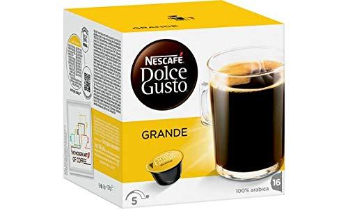 NESCAFE Dolce Gusto Kaffee Kapseln ´GRANDE´, Sie erhalten 1 Packung, Packungsinhalt: 16 Kapseln