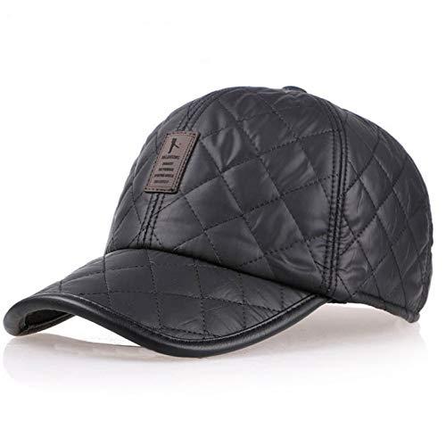 Lvntsx Nieuwe winter driver oorkap, mannen en vrouwen mode, winter en herfst baseball cap, verstelbare elastische riem klimmuts