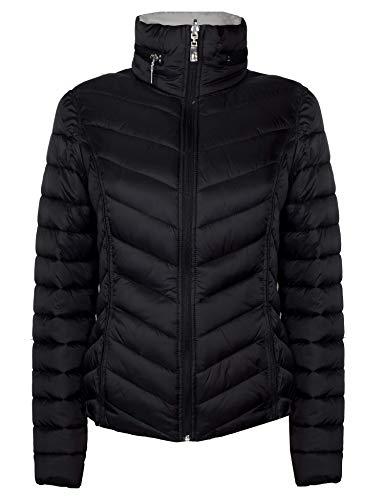 HFX Women's Reversible Lightweight Packable Jacket (Black, XX-Large)