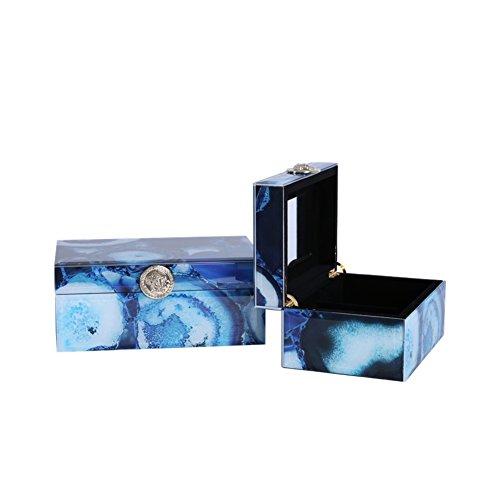 Neo-klassizistischen Haus Schmuck-Box zu Hause Schlafzimmer Kommode dekorative Ornamente Modell Zimmer Wohnzimmer Dekoration Juwelen-Ornamente-J