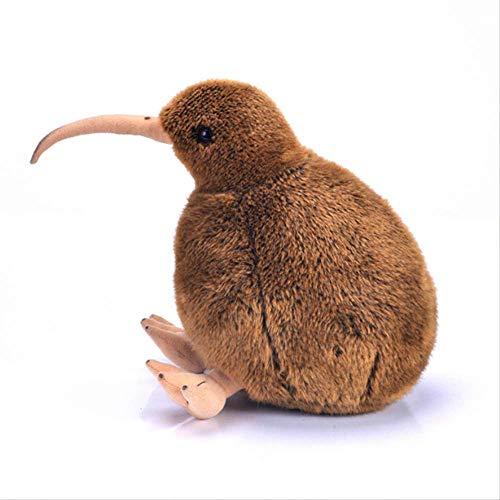 hzwh Kiwi-Vogel-stofftier, Lebensechte Kuscheltiere Plüschtiere Seeland-Puppen Für Kinder-Geburtstagsgeschenk 28cm Braun