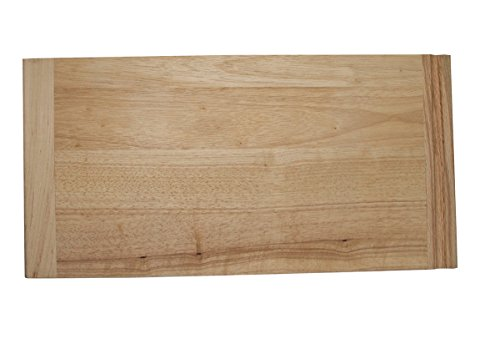 Omega National Rubberwood Bread Board 3/4 x 14 x 23-1/2