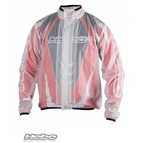Strawberr HEBO HE5708XXLTR Giacca impermeabile acqua / Rain Jacket HEBO TRANSP