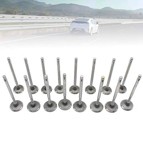DiLiBee 8x inlaatventiel met 8x uitlaatventiel ventielen voor V W AU DI 1.4 1.6 16V Golf FSI
