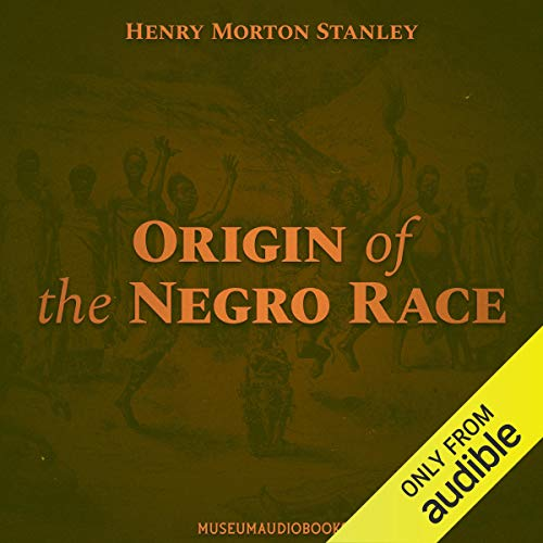 『Origin of the Negro Race』のカバーアート