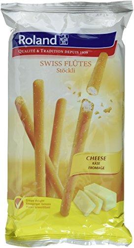 Roland Swiss Flutes/Stöckli Schweizer Käse, 15er Pack (15 x 125 g)