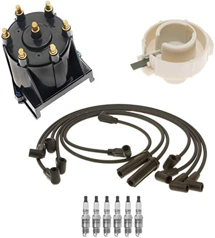 Ignition Kit Distributor Rotor 35% OFF Cap Wire for V Sonoma Plugs Spark Mail order