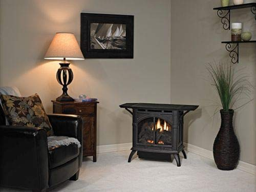 Best Price Empire VFD30CC70FN Heritage Cast Iron Matte Black VF Stove - NG