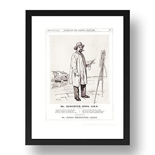 Period Prints Augustus Edwin John ARA - Pintor galés, dibujante y grabador,...