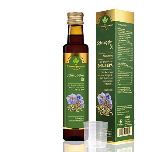 Schmuggleröl Ölmischung mit DHA & EPA 250 ml - MZL | Nahrungsergänzung