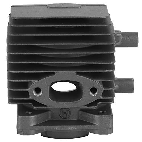 Aoutecen Luftfilter Zündkerze Aluminiumlegierung Zylinderbaugruppe Kolbensatz Leicht zu ersetzen Langlebig für STIHL FS75 FS80 FS85 HS75