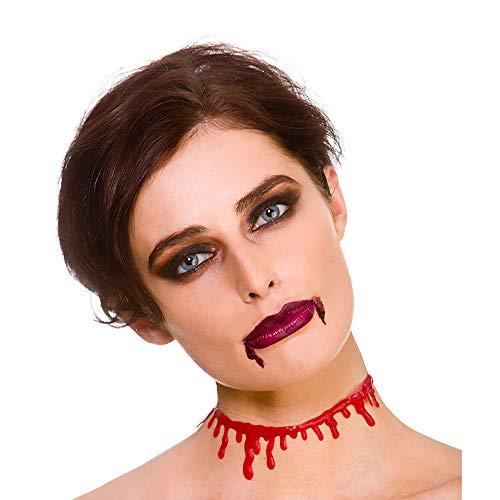 Wicked Costumes Gargantilla de sangre para adultos, accesorio de disfraz de Halloween