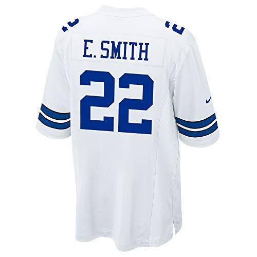 Dallas Cowboys NFL Herren Nike Game Jersey, Herren, E Smith Nike White Game Jersey, weiß, XX-Large