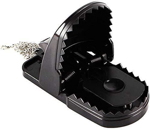 Trampa Ratones Captura reutilizable trampa de ratón pequeños ratones trampas venenoso rata a presión matar trampa y trampa de la trampa y el asesino de roedores de potencia con el control de plagas de