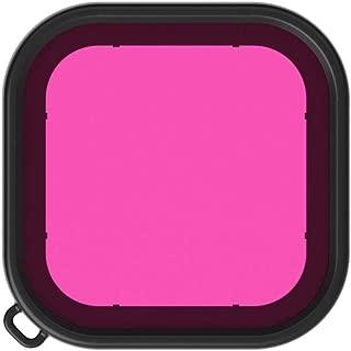 OUYAWEI Deep Diving Lens Filters for Gopro Hero 8 Waterproof Housing Case Filter Kit Camera Accessories purple