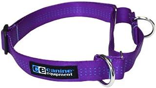 Canine Equipment Technika 1-Inch Webbing Martingale Dog Collar, X-Large, Purple