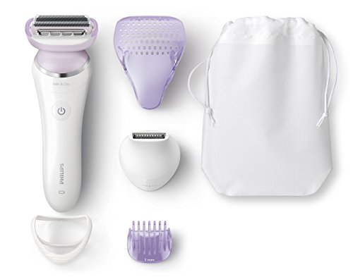 Philips SatinShave Prestige Wet and Dry Rechargeable Lady Shaver, Cordless Electric Razor with...