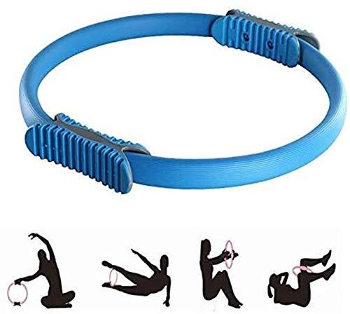 Pilates anillo de resistencia de bucle, la manija de Pilates doble Pérdida anillo, el peso corporal tonificante círculo mágico tonificación muslos, abdomen y las piernas - Dual Grip magia exercis