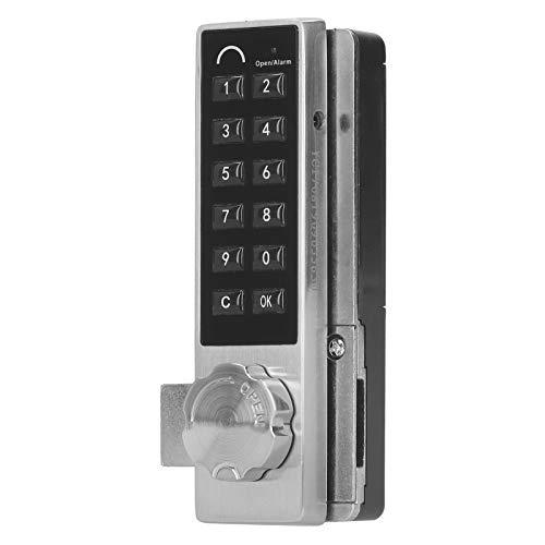 Lösenord Knapplås Stöldskyddslås, Smooth Electronic Lock Smart Lock, Slitstarkt säkert garage för bastu Arkivskåp Bastubänkar för arkivskåp