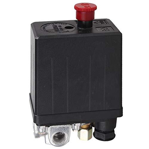 Air Compressor Pressure Control Valve Switch Regulator 90-120 PSI 4 Port 240V 16A Accessory Oscillating Multitool