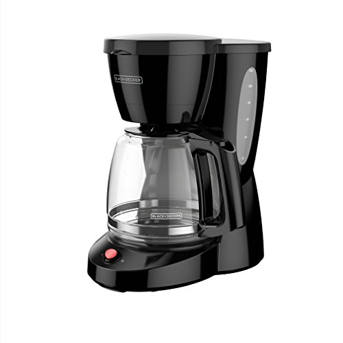 BLACK+DECKER 12-Cup Switch Coffee Maker, Duralife Glass Carafe, Black, CM0940BD