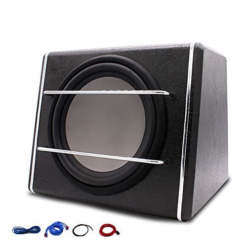 Auto subwoofer Stereo actieve audio apparatuur 12 inch 1200 W hoge energie leer materiaal luidspreker speler