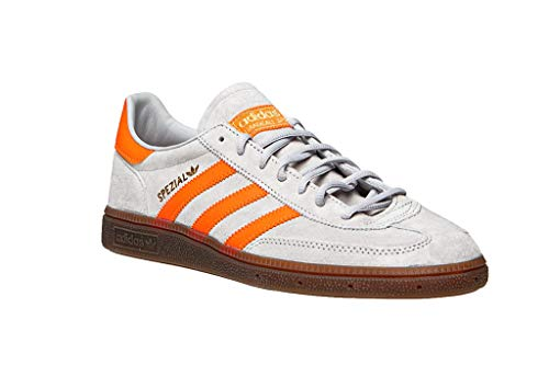 adidas Herren Handball Spezial Sneaker, Grau (Grey Two F17/Hi-Res Coral/Gold Met 10013971), 44 2/3 EU