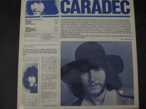 Jean Michel CARADEC , paroles et musique 33 tours vinyle