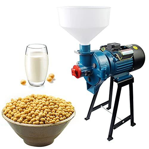 Electric Food Grinder Wet and Dry Grain Grinder Milling 110V Refiner Mill and Pulper 2in1 Grinding Machine With Funnel (Dry and Wet Grinding) -  ThousandH