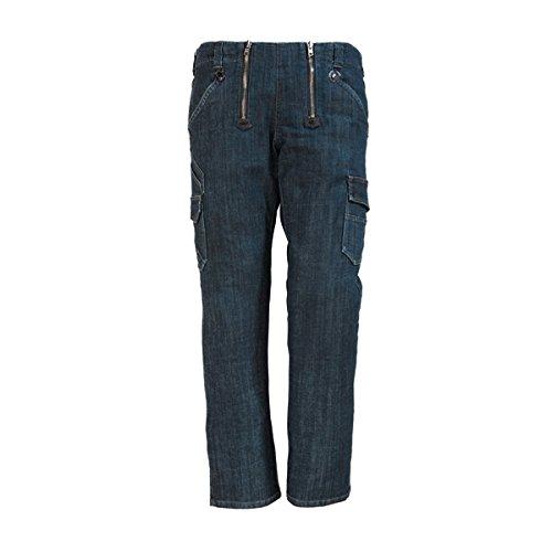 FHB Jeans-Zunft, Friedhelm, Größe 48, schwarz / blau, 22660-22-48