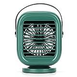 Ashley GAO Ventilador giratorio portátil de agua fría...