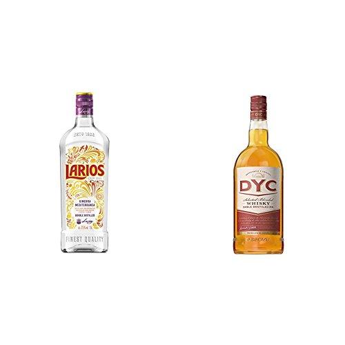 Larios - Ginebra Mediterranéa, 1.5 l + Dyc - Whisky, 1.5 L