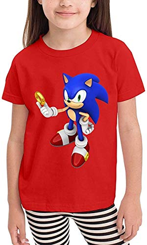 Kapuzenpullover Jungen Mädchen Kids T Shirts So-NIC The Hedg-ehog O-Neck Short Sleeve Shirt Graphics Tees
